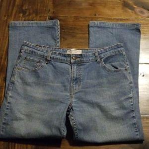 Levi's Lighter Blue Boot Cut Jeans size 14 short